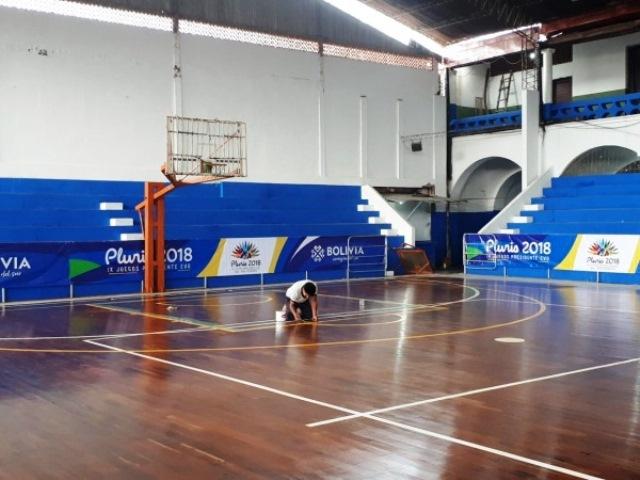 Juegos Plurinacionales – Secundaria: 17 escenarios fueron habilitados para las competencias