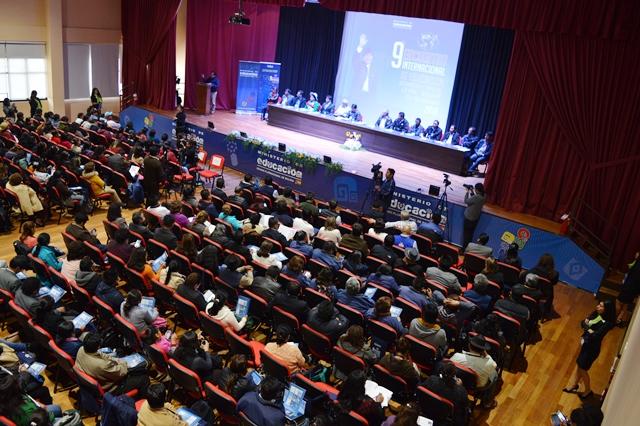 Se inaugura 9no Encuentro Internacional para seguir construyendo políticas educativas de forma participativa
