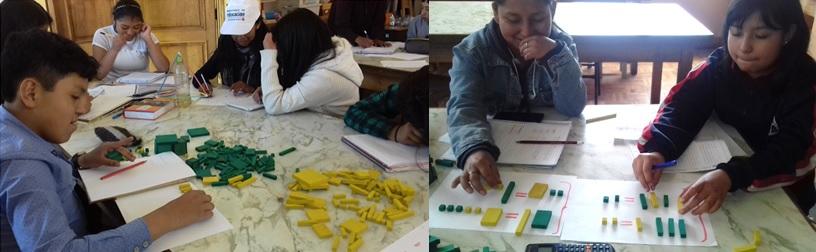 Los Bloques Matemáticos un recurso base para el aprendizaje del Álgebra básica en el Aula Sayariy