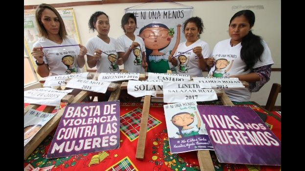 #NiUnaMenos exige prevención para frenar la violencia contra las mujeres