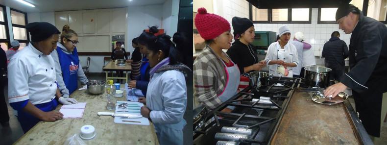 CEMSE La Paz inicia la Formación Técnica Especializada con Cursos de Gastronomía