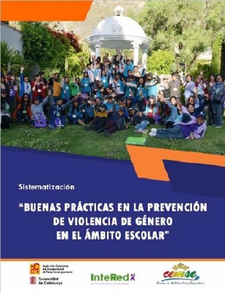 """Sistematización """"BUENAS PRÁCTICAS EN LA PREVENCIÓN DE VIOLENCIA DE GÉNERO EN EL ÁMBITO ESCOLAR"""""""