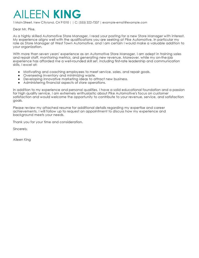 100 Retail Sales Associate Cover Letter Resume Sales