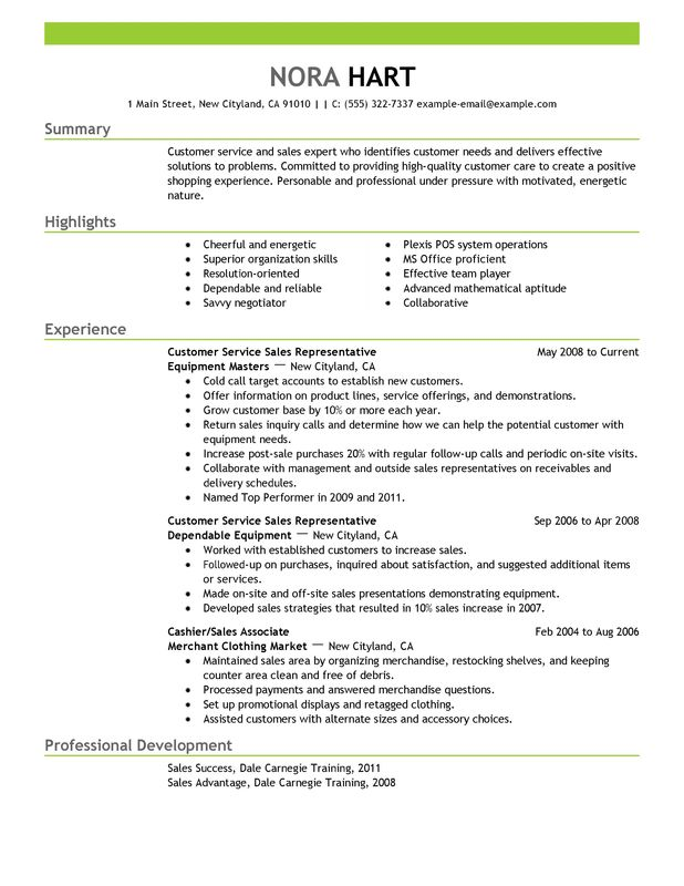 A Perfect Resume Example. Examples Of The Perfect Resume Examples