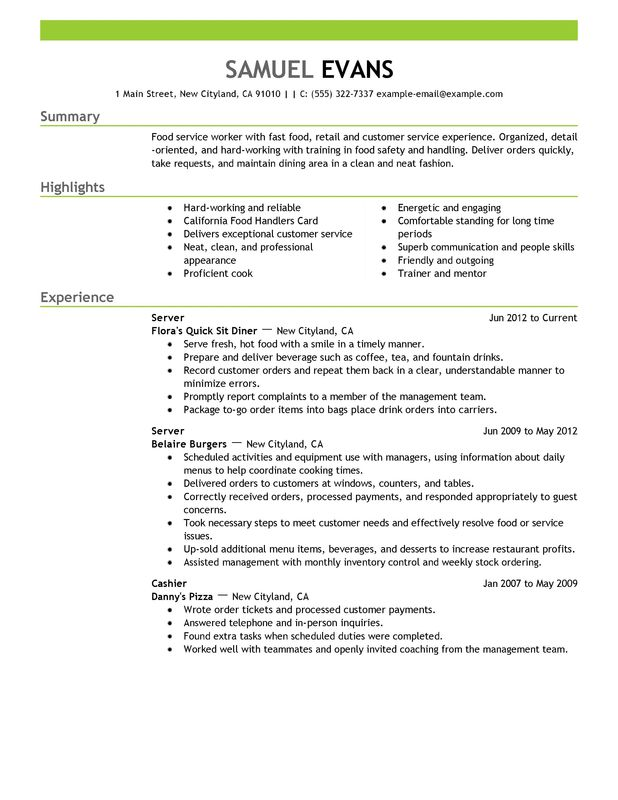 The Perfect Resume Sample. 14 How To Make A Perfect Resume Samples