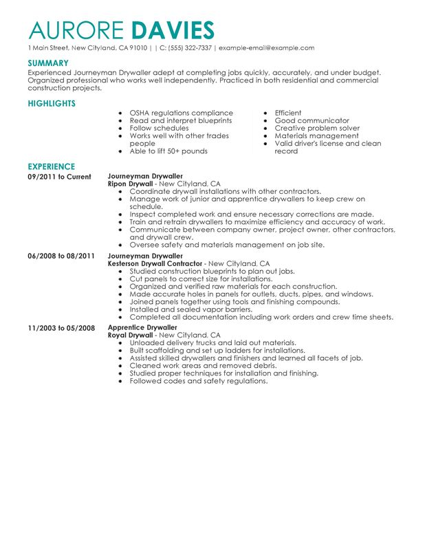 hvac resumes unforgettable hvac and refrigeration resume examples
