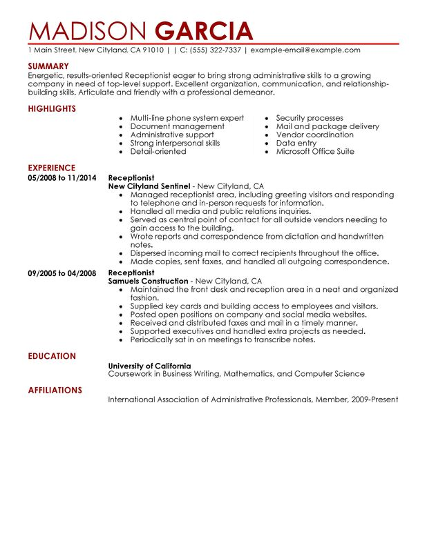 Salon Resume Skills. Unforgettable Hair Stylist Resume Examples To