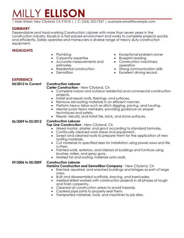Short Resumes Examples. Short Resume Format Template. Resume