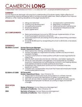 Free resume templates mining industry