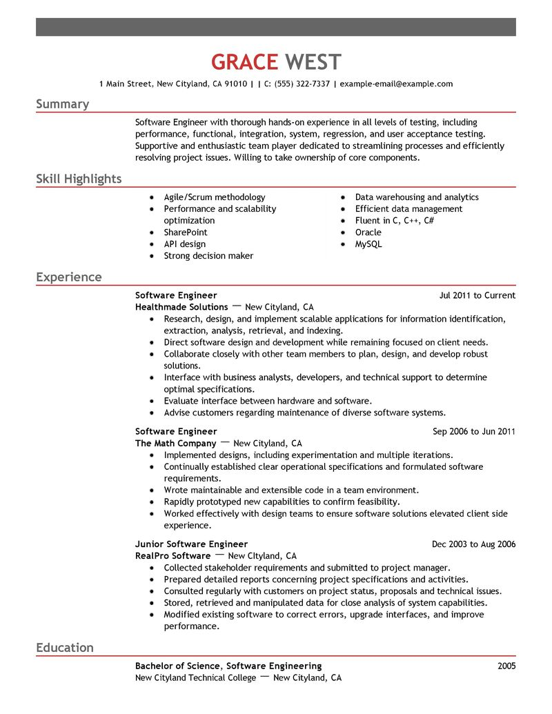 sample resume format for diploma mechanical engineers resume