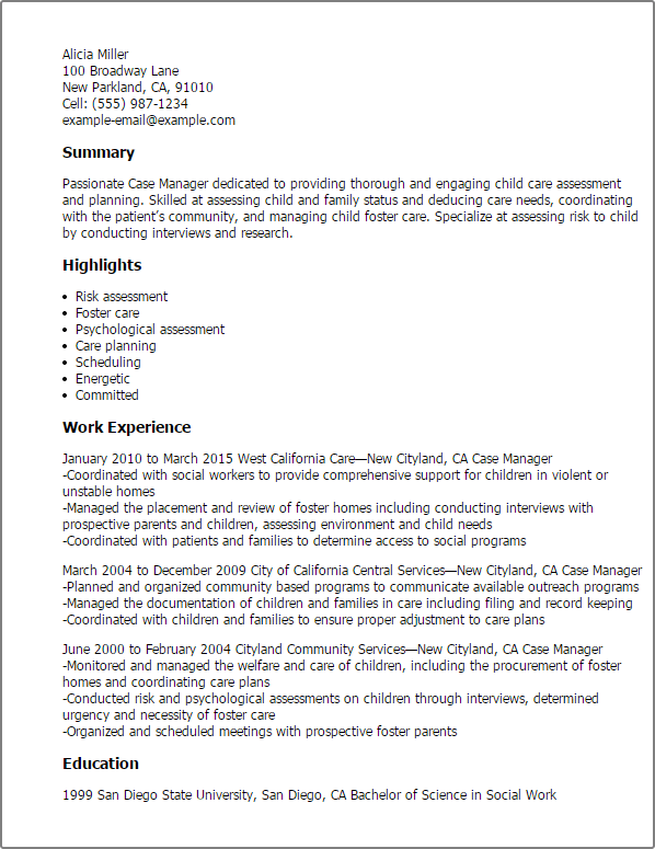 case management resume case manager resume sample nurse case