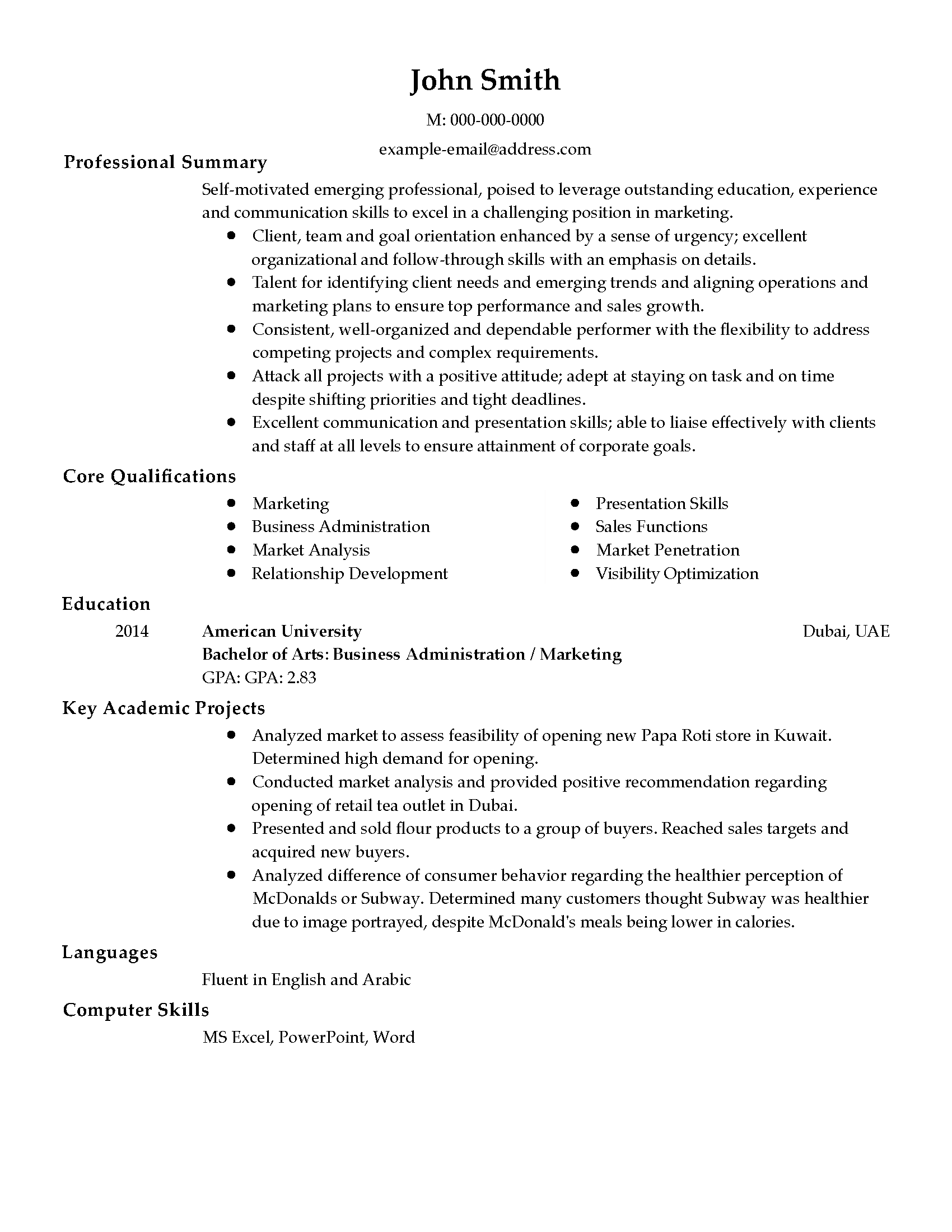 sales analyst cover letter