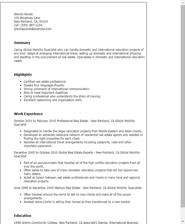 sourcing resume template http global sourcing resume sample