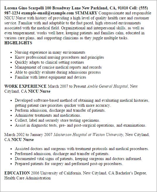 care nurse resume example resume writter quality critical care nurse