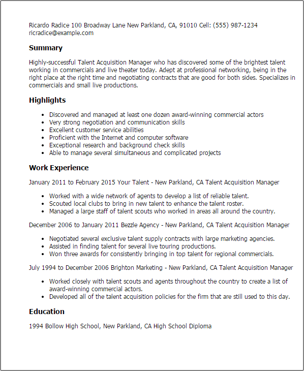 resume templates automotive general sales manager 9 resume