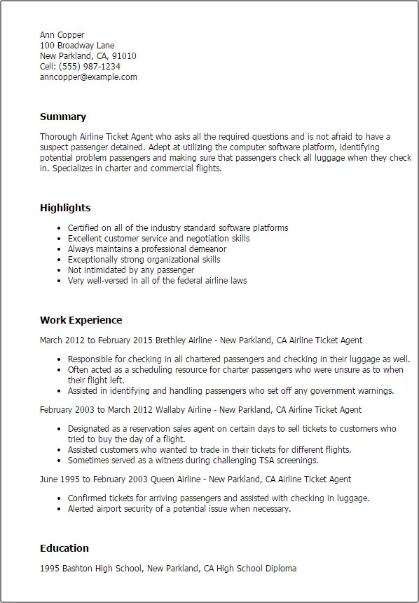 Resume Aviation Industry Profesional Resume Pdf  Examples Of A Professional Resume