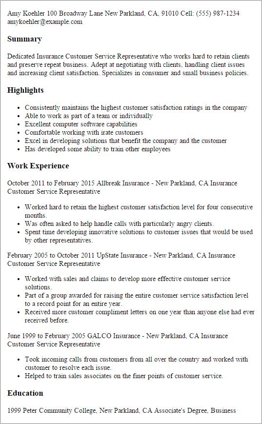 resume customer service summary get professional essay writing