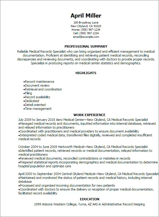 resume school librarian resume sample resume profile summary