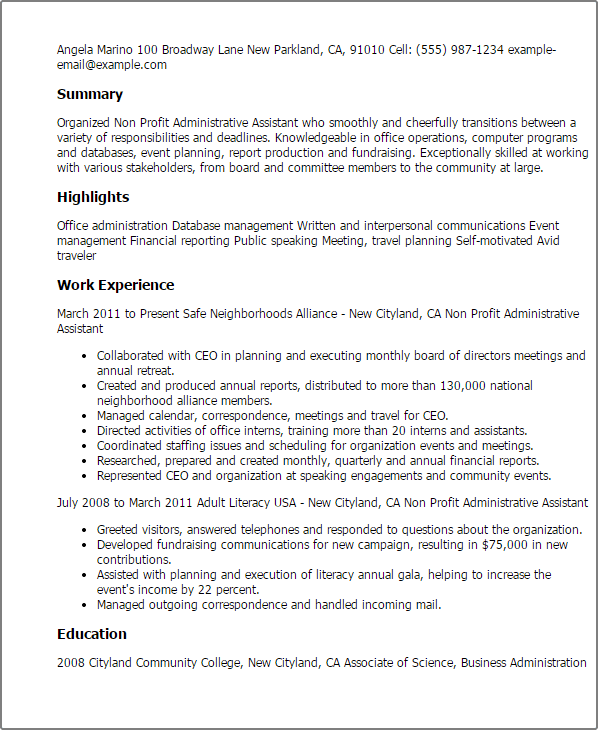 Permalink To Inspirational Sle Cover Letter For Administrative Istant Pics