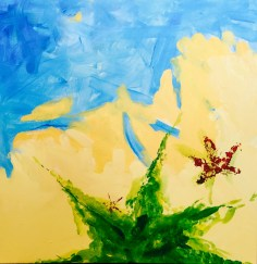Acrylic on Canvas 2' x 2' 2015