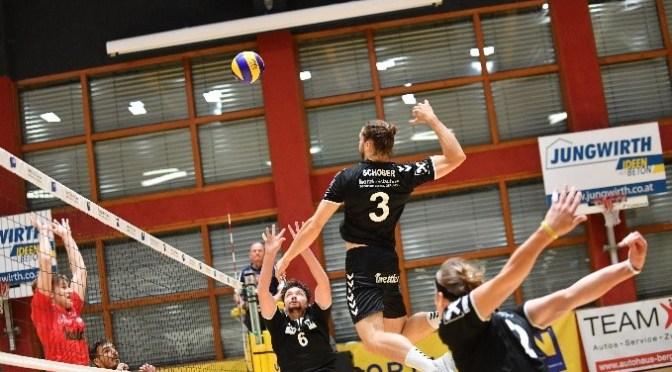 Volley League Men – Volle Punktzahl beim ersten Heimspiel für die Nordmänner