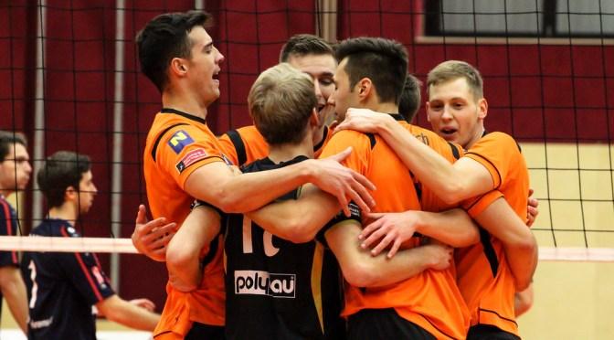Volley League Men / Klarer Auswärtserfolg für die SG VCA Amstetten NÖ am Mittwochabend in Klagenfurt