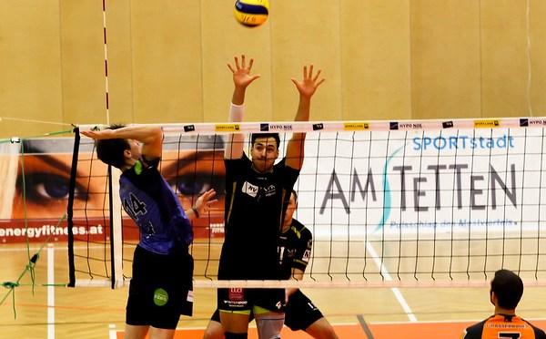 Volley League Men / Spiel der letzten Chance für Amstettens Volleyballer