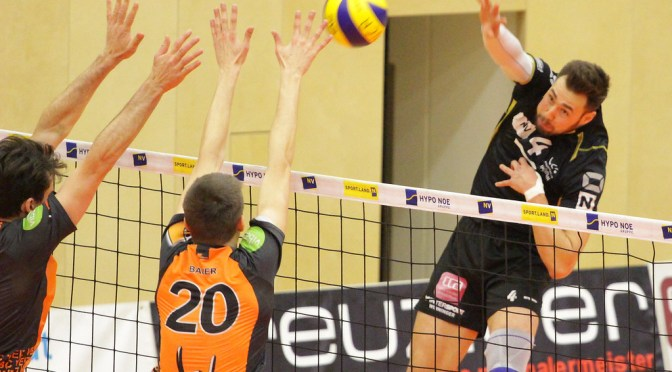Volley League Men Spiel um Platz 5 / Amstetten bezwingt Weiz mit 3:1