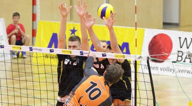 Volley League Men Spiel um Platz 5 / Amstetten verliert Krimi in Weiz