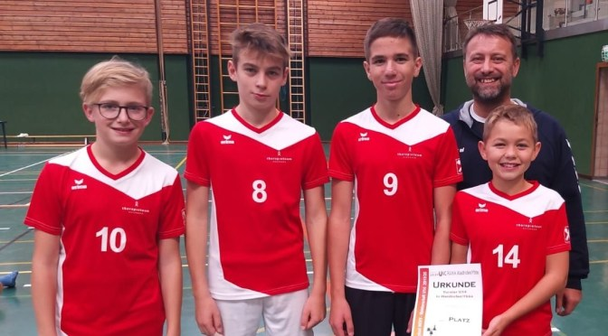 UVC Raiba – Siege beim Start der U14- Volleyball-Turnierserie!