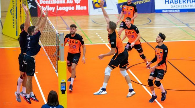 Volley League MEN / Amstetten erobert Tabellenführung