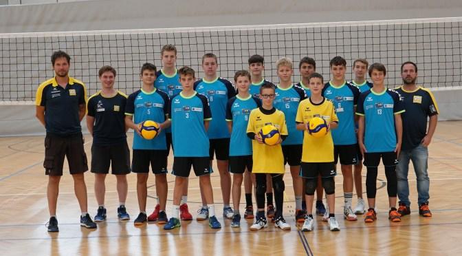 NÖVV-Landeskader bei der Sichtung zum Jugendnationalteam