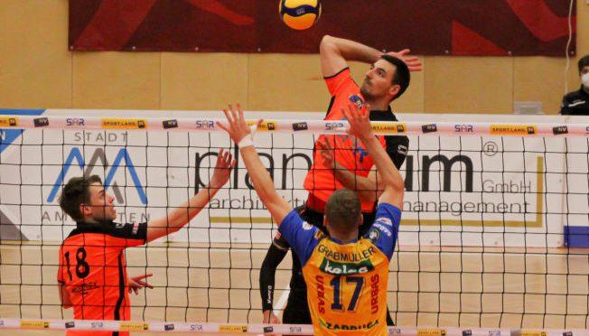 Volley League Men / VCA Amstetten NÖ unterliegt Serienmeister Aich/Dob im zweiten Halbfinale knapp mit 1-3