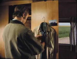 "The final scene of ""Brokeback Mountain"""