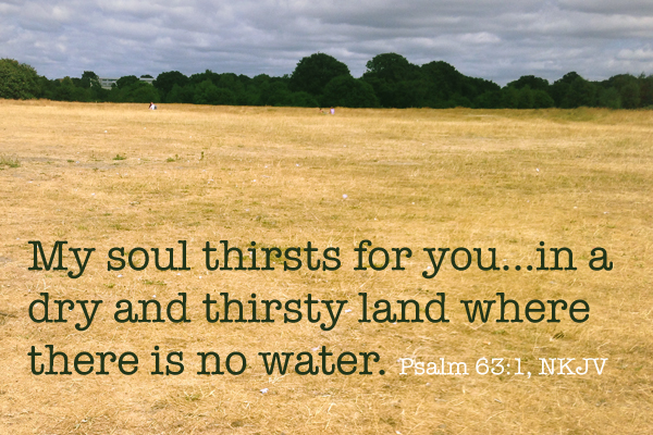 Image result for a dry and thirsty land