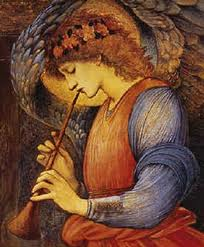 advent 1 Angel  Edward Burne-Jones