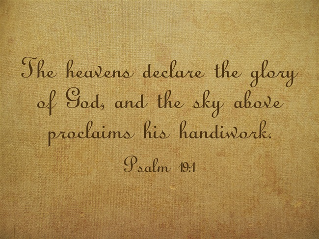 The-heavens-declare-the
