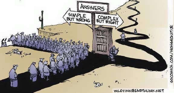 Resultado de imagen de answer simple but wrong