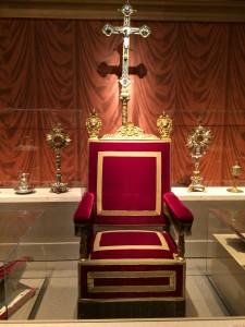 Papal throne of Pius XI