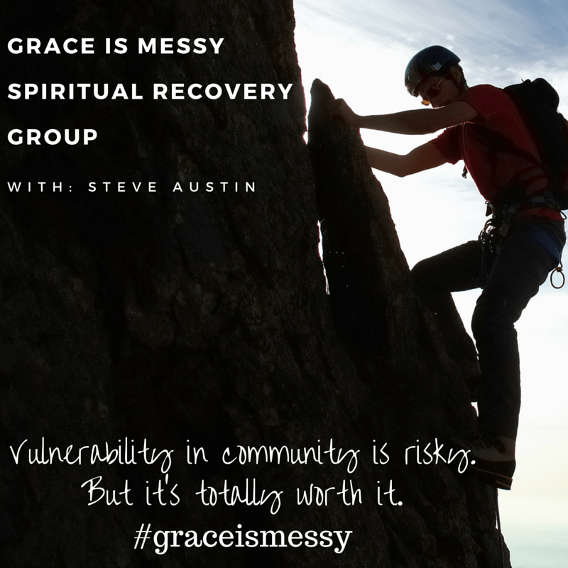 Join the Grace is Messy Spiritual Recovery Group today!