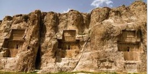 Naqsh-e Rostam: The Achaemenid Tombs of Darius II, Artaxerxes, Darius The Great, and Xerxes, Persepolis & Pasargadae, Iran