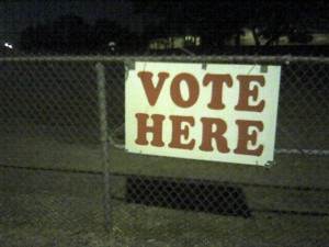 Voting_Sign_at_Night