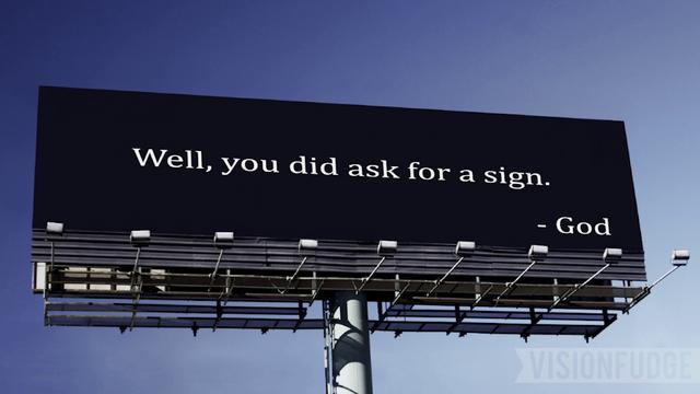 Image result for sign from God