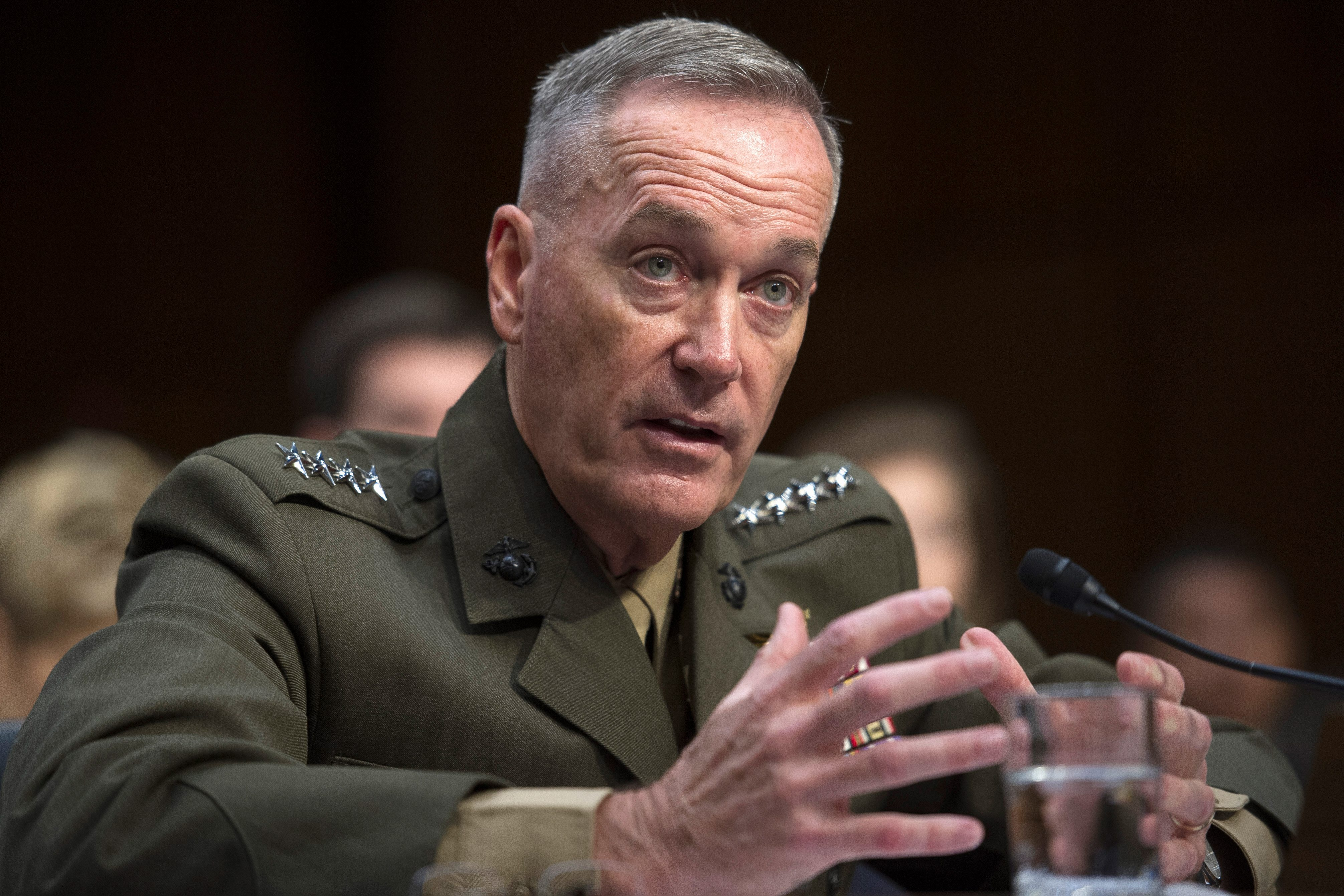 Image result for TOP MARINE Dunford warns RUssia war