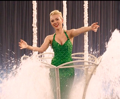 ScarJo does Esther Williams. (Universal)