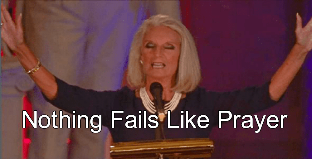 Evangelicals Try To Pray Hurricane Harvey Away, And Fail (Anne Graham Lotz image via YouTube)