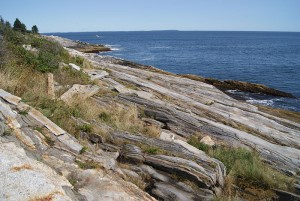 Rugged Coastline near Pemaquid Point.  Jacklee, 2015.