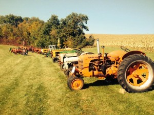 Tractors, photo R. Busse