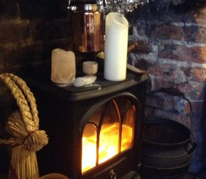 The hearth - photo by Yvonne Aburrow