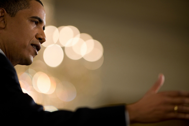 Barack Obama. Copyright: United States Government Works, 2009.